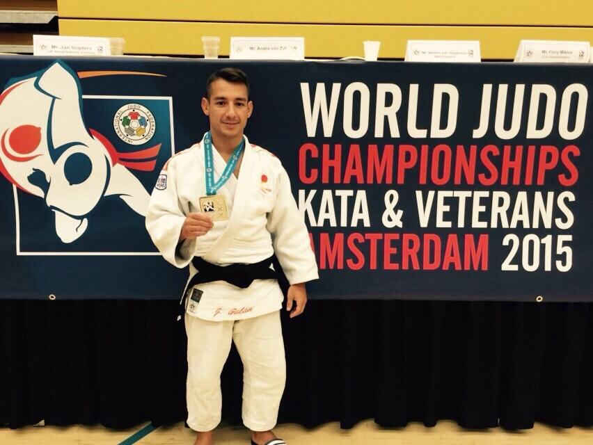 Jorge Galán,subcampeón del Mundo en la categoría M1, -60kg