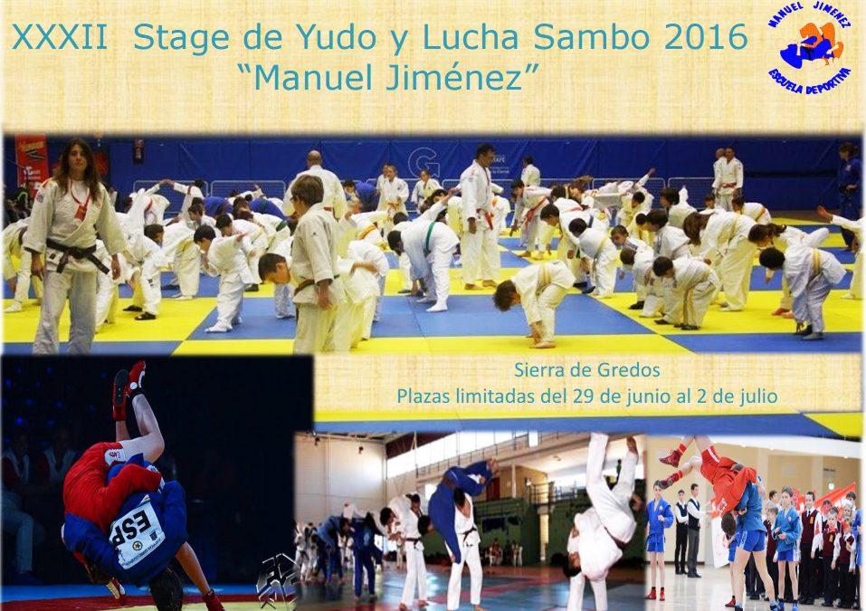 XXXII Stage d eYudo  Lucha Sambo 2016