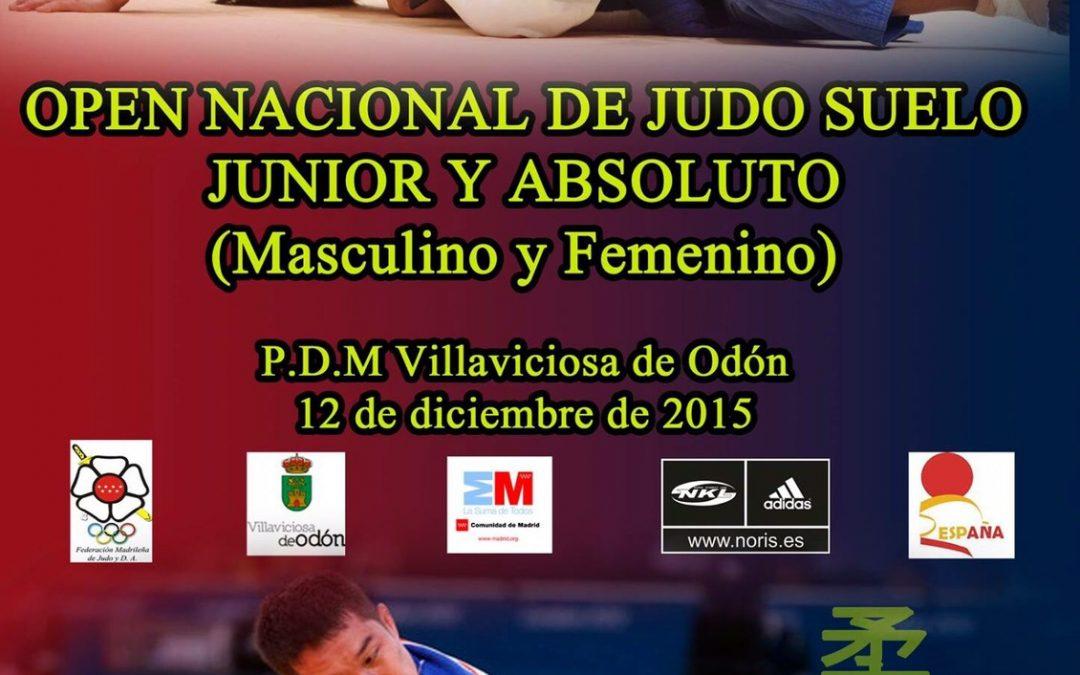 Open nacional de judo suelo
