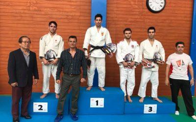 Cuatro medallas en el Campeonato de Madrid de Judo Senior