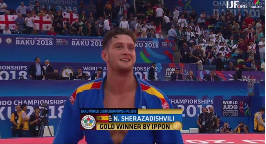 Niko Sherazadishvili, campeón del mundo ¡Felicidades!