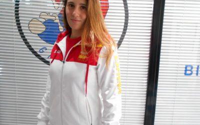 Yaiza Jiménez aspira a lo más alto en el Mundial de Lucha Sambo