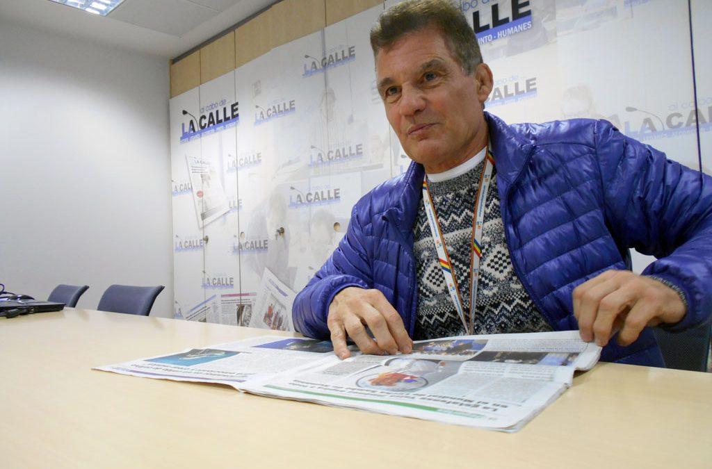 Manuel Jiménez entrevistado en Al Cabo de la Calle