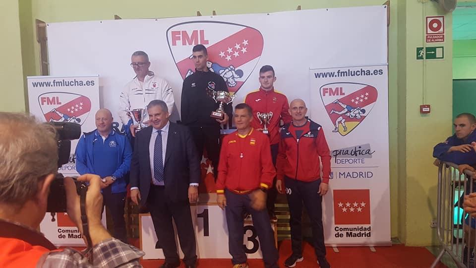 Campeonato absoluto de lucha Sambo de Madrid 2019