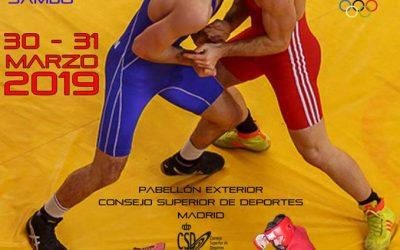Campeonato de España de Lucha SAMBO 30 y 31 de marzo de 2019