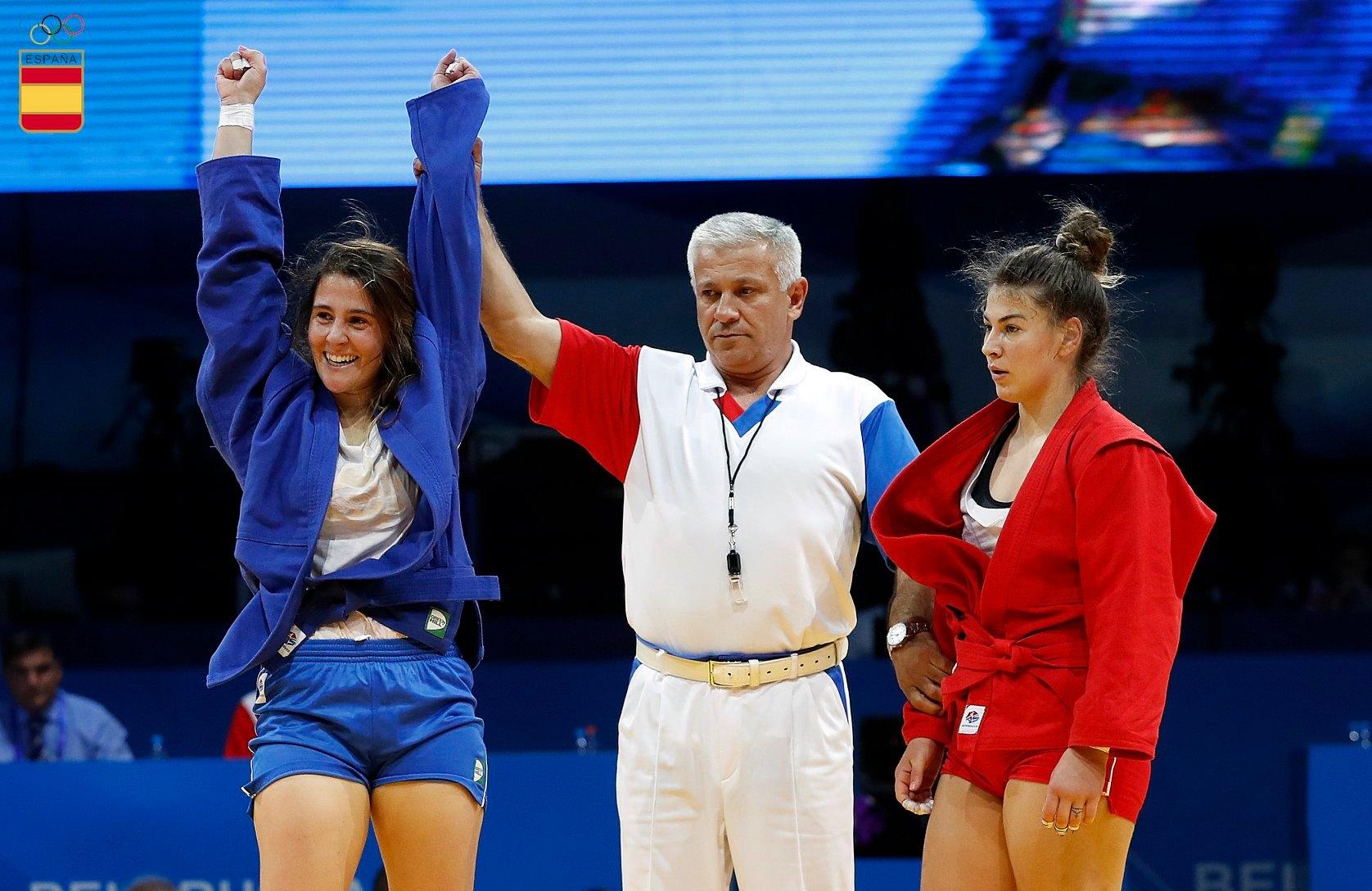 juegos olimpicos europeos yaiza jimnenez
