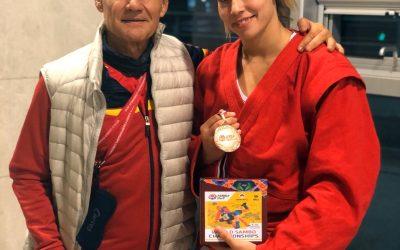 Paula Martínez  Bronce Cto Mundo senior Korea 2019