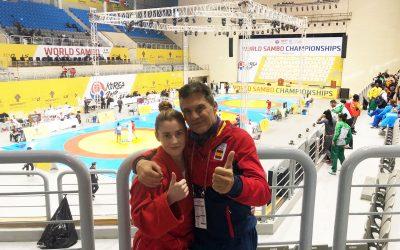 Cristina Casas BRONCE. Campeonato del Mundo Sambo Korea 2019