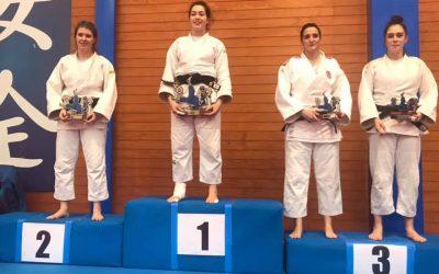 Campeonato de MADRID de Judo Júnior 2020. María Calvo Medalla de BRONCE