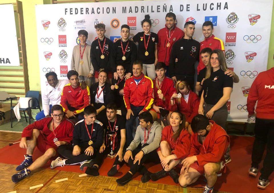 Campeonato de MADRID de Sambo