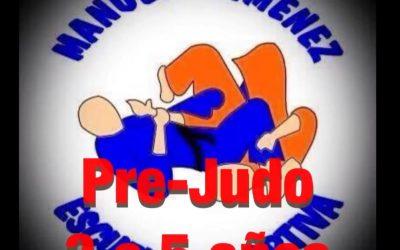 Nuestra clase de pre-judo (3 a 5 años)