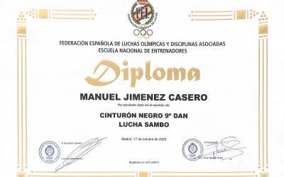 9º DAN De Sambo Manuel Jiménez