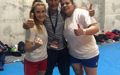 Dos medallas de bronce en el europeo de Sambo para España